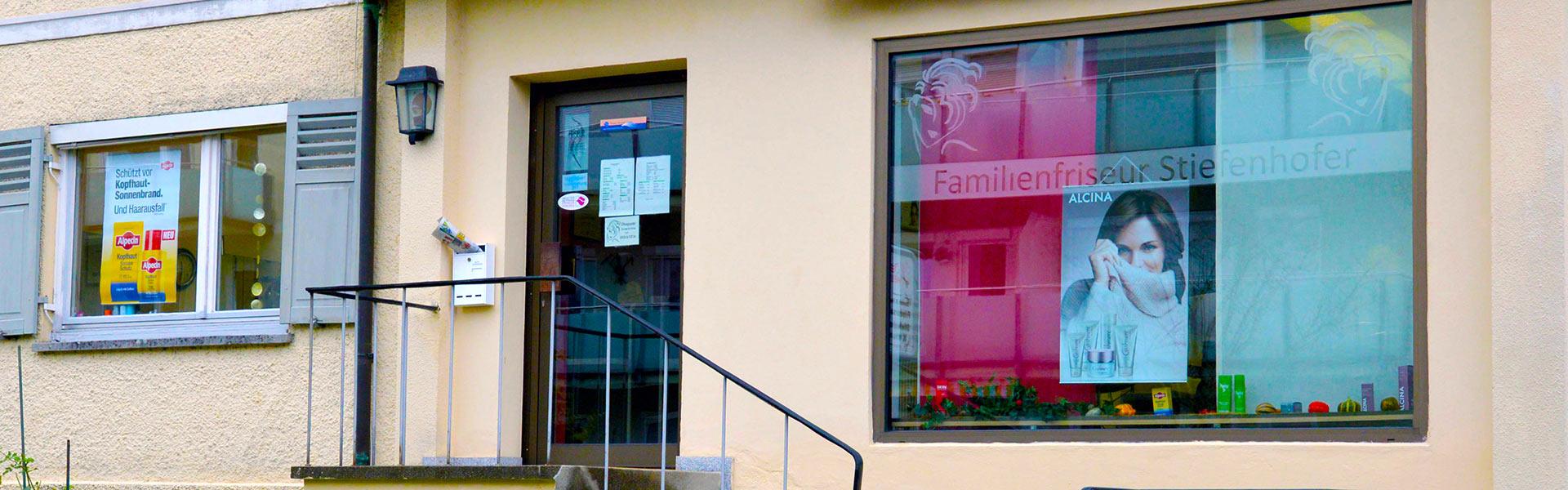 Kontakt und Anfahrt zu Friseur Stiefenhofer in Lindau