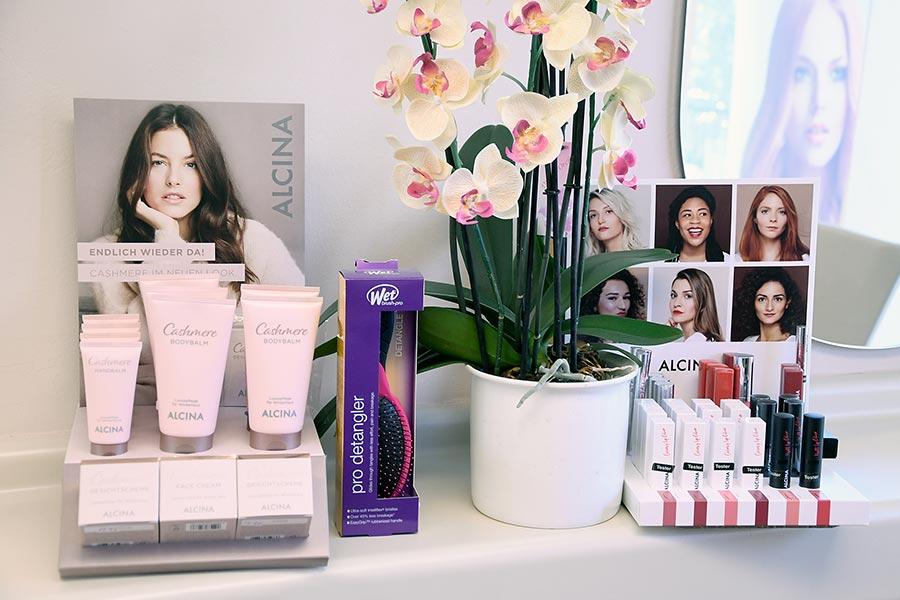 Pflegeprodukte für gesunde Haut und Haare bei Friseur Stiefenhofer