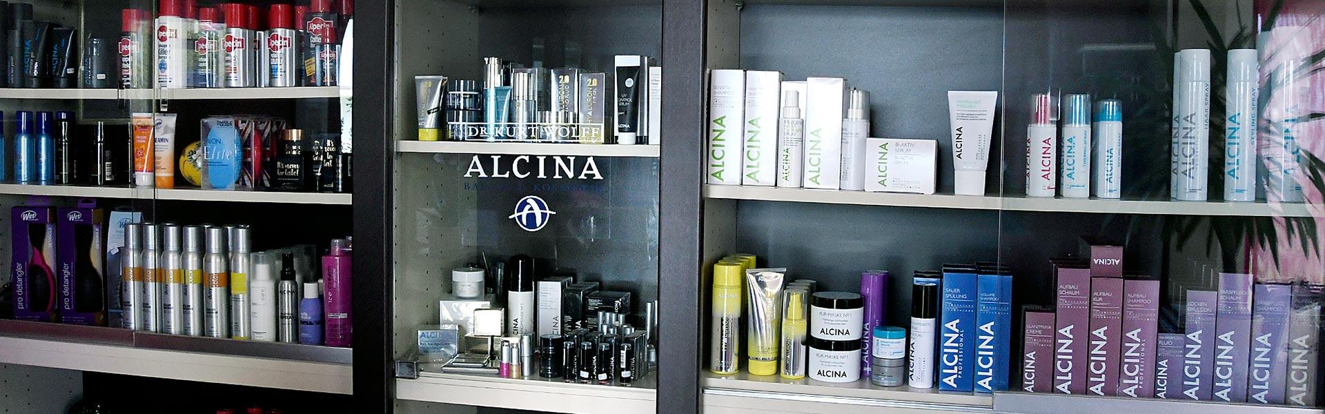 Hochwertige Kosmetik- und Haarprodukte bei Friseur Stiefenhofer