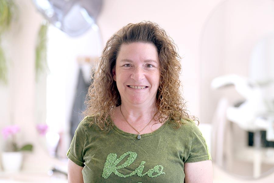 Frau Zimmermann - Friseurin im Friseursalon Stiefenhofer